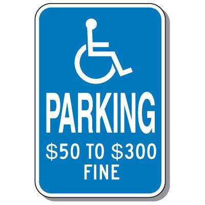 State-Specific Handicap Parking Signs - Missouri