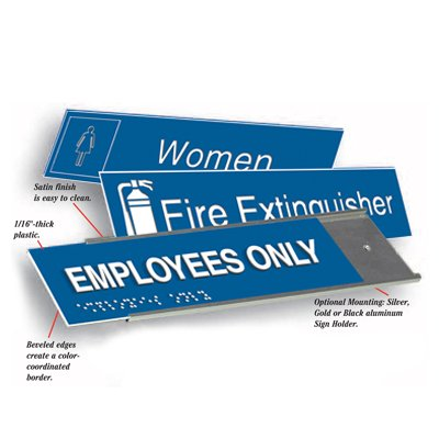 Pre-Sized Custom Engraved Signs