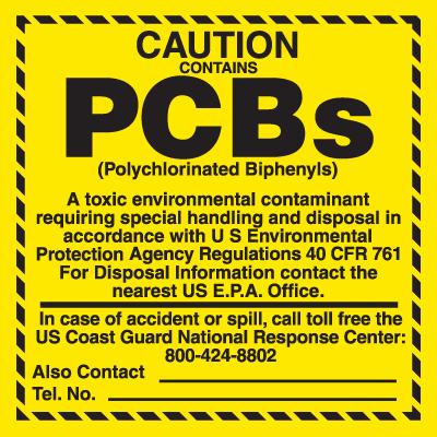 PCB Labels - Contains PCBs