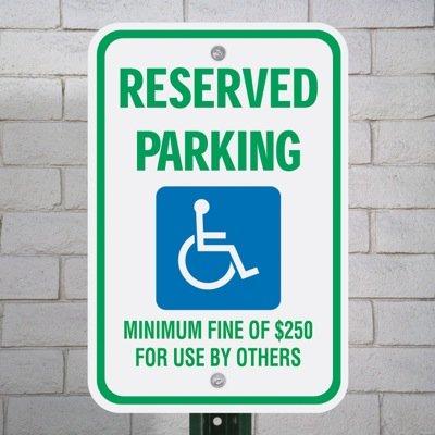 State-Specific Handicap Parking Signs - Nevada