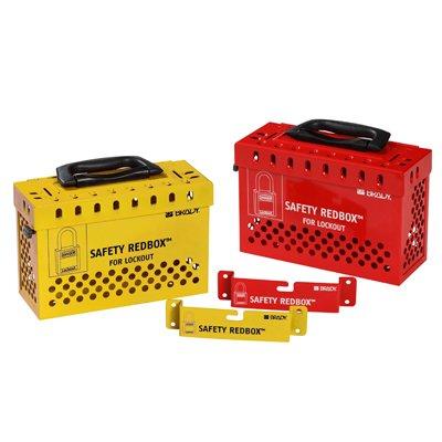 Brady SAFETY REDBOX™ Group Lockout Box
