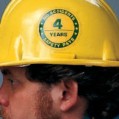 Custom Safety Award Labels
