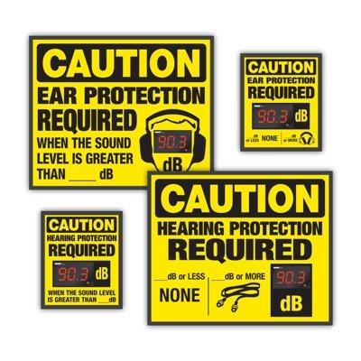 Semi-Custom Decibel Meter Signs