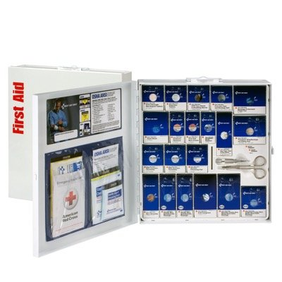 ANSI SmartCompliance™ Class A+ Food Svc First Aid Kit w Meds