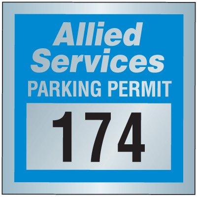 Tamper Resistant Parking Permits