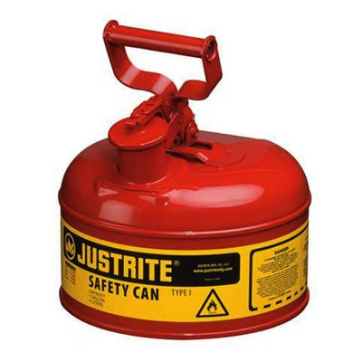 Type 1 Terne Plate Steel Safety Cans - JUSTRITE 10301