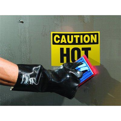 ToughWash® Labels - Danger Keep Hands Clear (Bilingual)