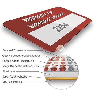UltraGuard™ Custom Security Cut Asset Tags