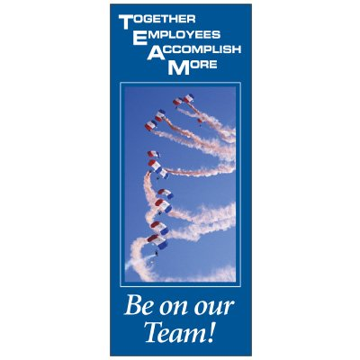 Be On Our Team Banner