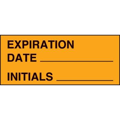 Expiration Date Status Label