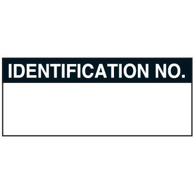 Identification No Status Labels