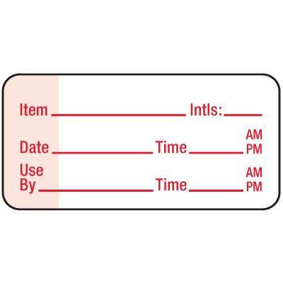Water-Soluble Labels - Record Label