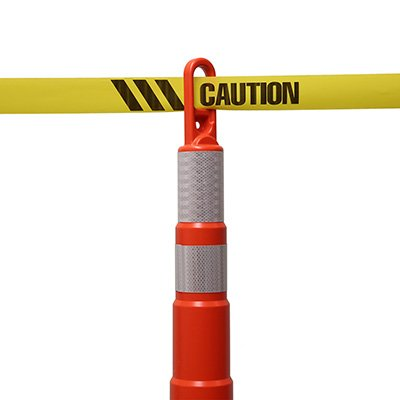 Caution Striped Barricade Tape