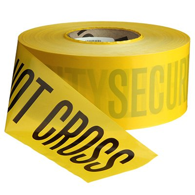 Security Line Barricade Tape