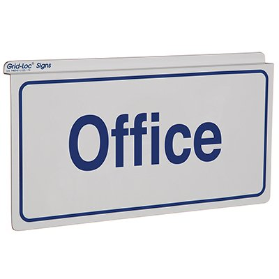 Office Sign - Drop Ceiling Double-Sided Signs