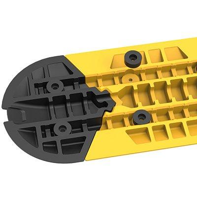 Seton Modular Speed Bump with Strengthening Rail