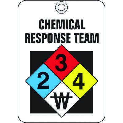 Chemical Response Team ID Tags