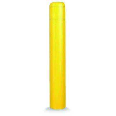 Post Guard 4502YN Yellow Bollard Cover 13 x 60 No Tape