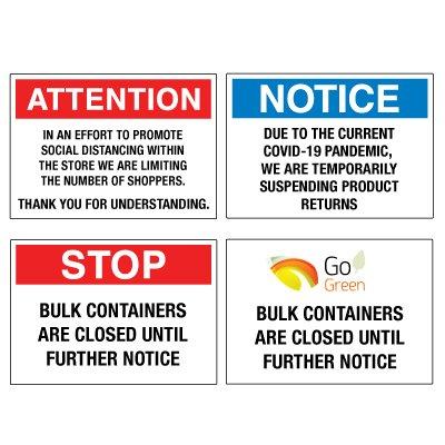 Custom Eco-Friendly Signs