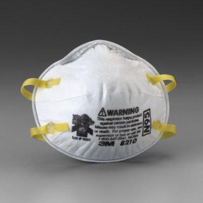 3M Particulate Respirator 8210, N95  70070614394