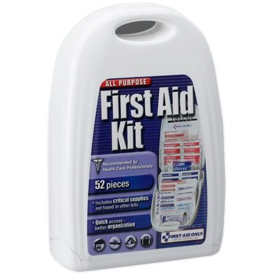 All Purpose First Aid Kit, 52 pc - Small First Aid Only FAO-122