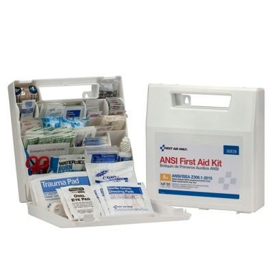 ANSI 50-Person Class A+ First Aid Kit