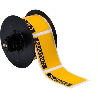 Brady B30 Series B30-241-595-OSHACA Label - Black on Yellow