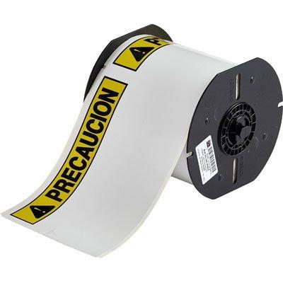 Brady B30 Series B30-25-855-PREC Label - Black/Yellow on White