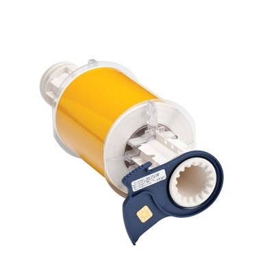 BBP®85 Series Label: Polyimide, Yellow, 4 in W x 33 ft L