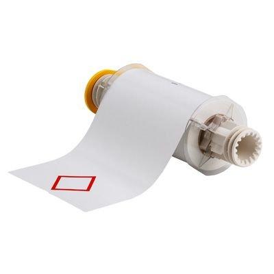 BBP®85 Series Label: Vinyl, Red on White, 6.1 in H x 8.3 in W