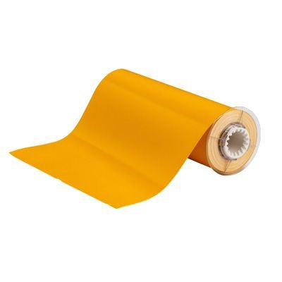 BBP®85 Series Label: Vinyl, Yellow, 10 in H x 14 in W