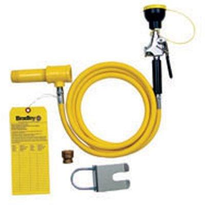 Bradley 8 foot Drench Hose Spray Kit  S19-430EH