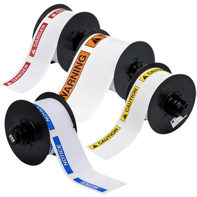 Brady® BBP®31 & BBP®33 ANSI Header Label Ribbons