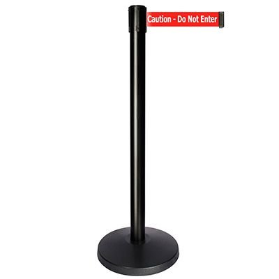 Caution Do Not Enter - Queue way® Plus Stanchion