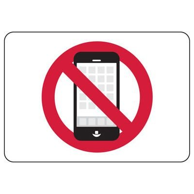 No Cell Phone Symbol Sign