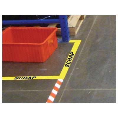 Custom Clear Floor Tape Labels