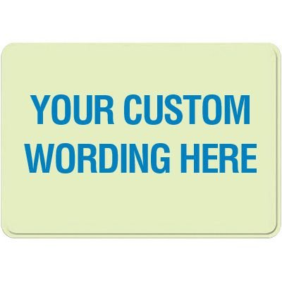 Custom Glow Interior Decor Signs