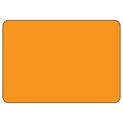 Blank Orange Write-On Sign