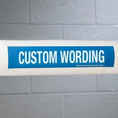 Custom Economy Pipe Markers