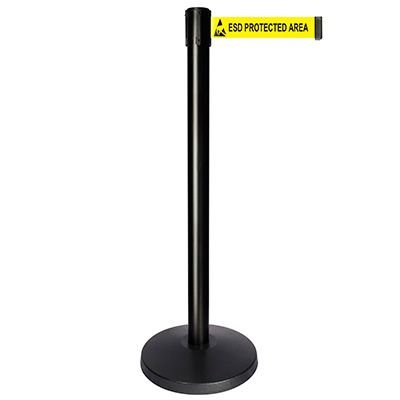 ESD (Logo) - Queue way® Plus Stanchion