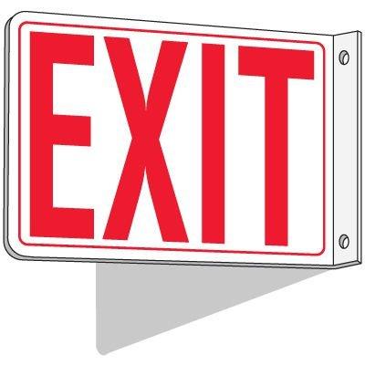 2-Way Exit Sign