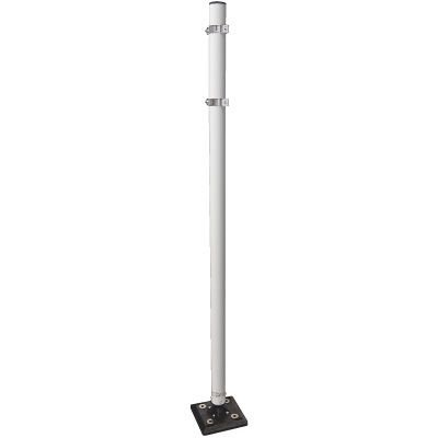 Heavy Duty Flexible Sign Stanchions - Surface Mount