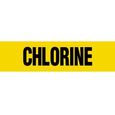 Chlorine Pipe Markers