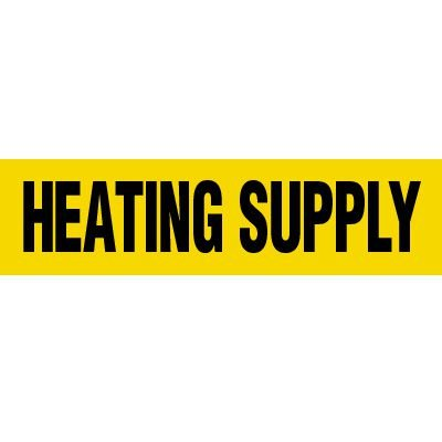Heating Supply Pipe Markers