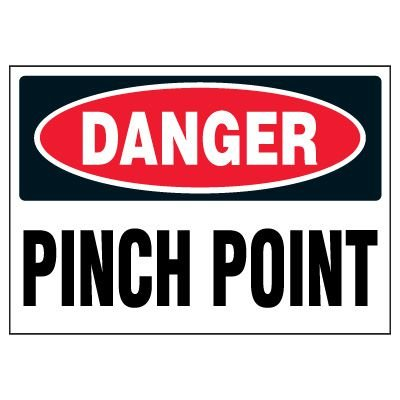 Pinch Point Warning Markers