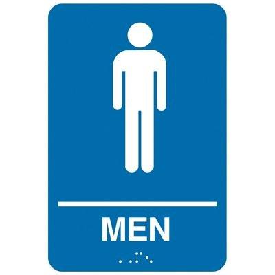 Man ADA - Economy Braille Signs