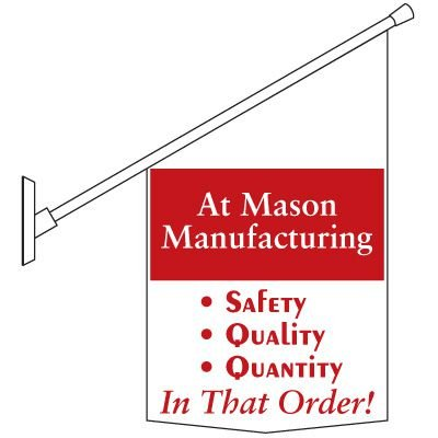 Motivational Pole Banners Custom