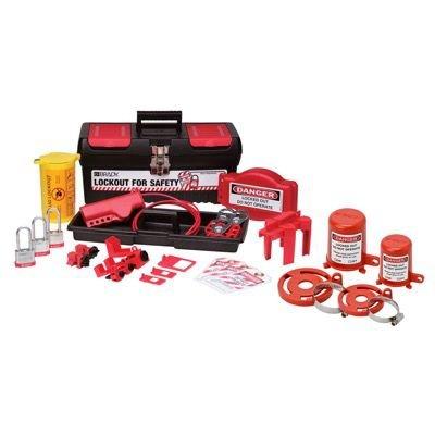 Brady 105956 Personal Valve and Electrical Kit w/ 3 Keyed-Alike Steel Padlocks - Kit