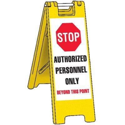 Portable Authorized Personnel Security Barricade
