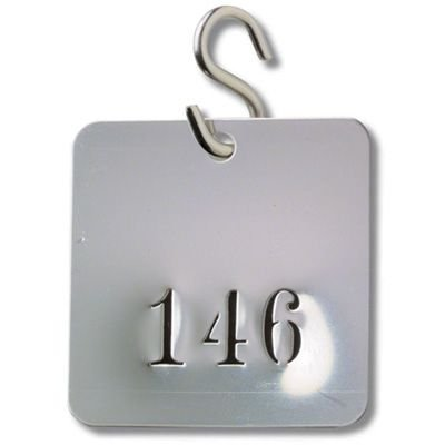 Stainless Steel S Hooks Valve Tag Fasteners - 100/Case